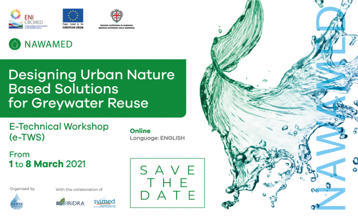EU-funded NAWAMED e-technical workshop examines designing urban nature-based solutions for greywater reuse