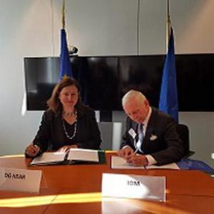 Migration: EU-IOM explore ways to strengthen international efforts