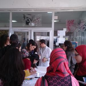 Erasmus+ students in Tunis