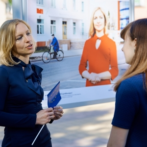 "Belarus: ""Faces of EU projects"" photo exhibition kicks off in Maladziečna"
