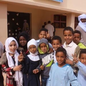 Displaced by conflict, children from Ubari, southern Libya, return home and to the classroom. Photos by Ali Alshareef/ ©UNDP Libya