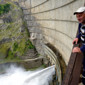Stop energy losses: Enguri Hydropower Plant undergoes rehabilitation with EU support