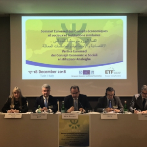 Euromed Summit recommends enhanced educational and vocational training and lifelong learning in the region