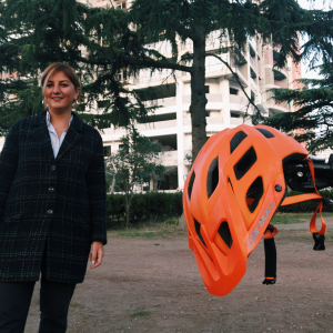 Lika Merabishvili – a Georgian woman who strives to promote cycling in Tbilisi with EU support