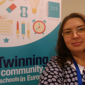 Dariya Artsymyeyeva: how an EU programme connected a village teacher with schools around Europe