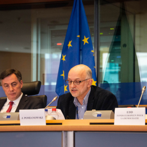 European Endowment for Democracy report 2018 presented at European Parliament