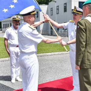 EUNAVFOR Med: Force Commander handover ceremony