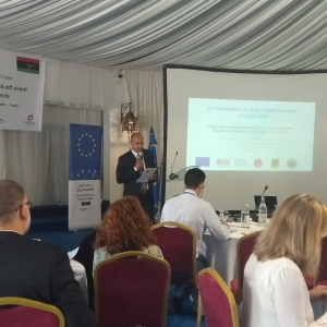 Libya: five EU-funded projects launched in health sector