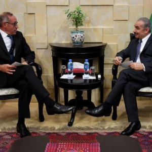 Head of EU Coordinating Office for Palestinian Police Support meets Palestinian Prime Minister