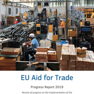 EU Aid for Trade - Progress Report 2019