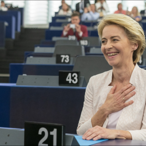 European Parliament elects Ursula von der Leyen as first female Commission President