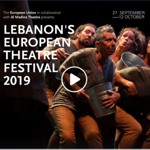 #EUinLebanon #theatrematters #EU4Culture #EU4YOUth #EUintheWorld