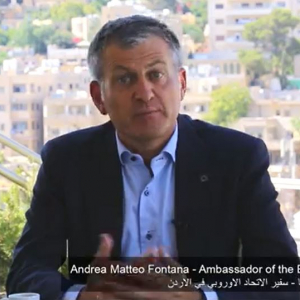 "EU Ambassador to Jordan video: ""I am particularly proud of the strong relationship we have built with Jordan"""