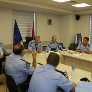 EU Mission helps Palestinian police prevent crimes and disorder more efficiently