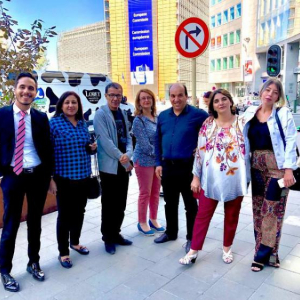 Algerian journalists visit European institutions