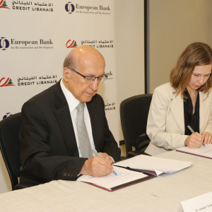 European Bank for Reconstruction and Development and Crédit Libanais joining forces