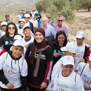 U and UN conclude their 30-day walk for child rights
