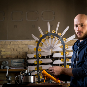 Ukrainian start-up Sirocco Energy develops a wind turbine for cities