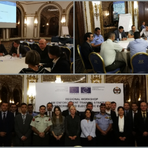 EU funds regional workshop on law enforcement training strategy on cybercrime and electronic evidence