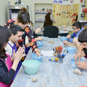 Baku's first inclusive craft class: sparking interest in children with disabilities