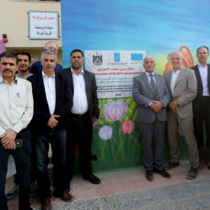 EU Heads of Cooperation visit the Jordan Valley