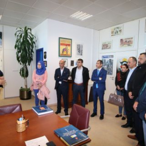 Palestinian delegation paid EU-funded visit to Spain to learn more about advanced border security methods