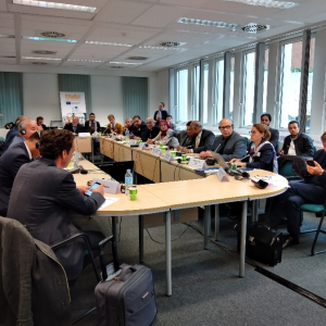 Euromed Transport Rail Project annual steering committee held in Brussels