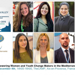 Emerging Valley 2019: EU-funded FEMISE workshop to shed light on empowering women and youth change makers in the Mediterranean and Africa