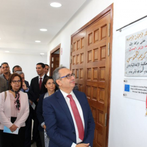 Tunisia: EU Ambassador inaugurates Court of First Instance headquarters rehabilitated with EU funds