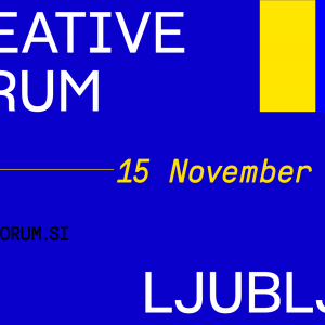 Ljubljana Creative Forum 2019 to link the Southern Mediterranean and the Western Balkans through creativity
