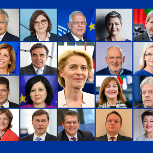 European Parliament elects the von der Leyen Commission