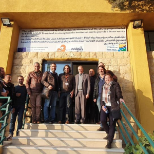 Ambassador of the European Union Ralph Tarraf visiting the Beqaa