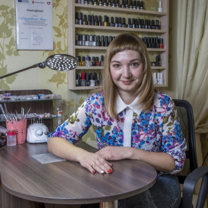 A second chance in Donetsk: how EU support gave Olena better skills for a better future