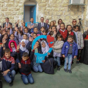 EU and Germany Sign Vital Contribution Agreements at UNRWA Jerusalem Girls' School in Silwan in East Jerusalem