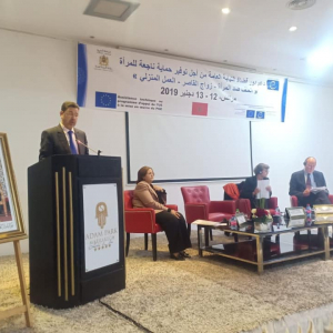 Council of Europe sessions on violence towards women in Morocco: a strengthened role for prosecutors