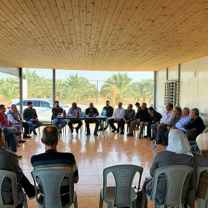 Improving irrigation for date palm cultivation in Palestine: EU-funded MEDISS project presented to 30 beneficiaries