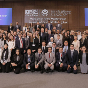 World Youth Forum: More than 90 young people discussed employment and climate action initiatives at the first Model UfM