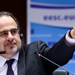 European Economic and Social Committee president Luca Jahier