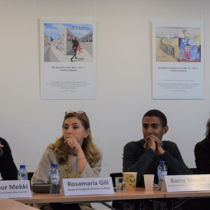 European Endowment for Democracy panel discussion tackles perspectives for change in Tunisia