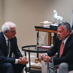 High Representative Josep Borrell visits Jordan in his first visit to the Middle East