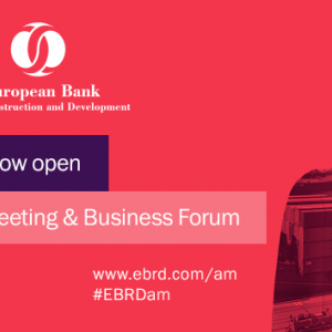 Registration open for the European Bank for Reconstruction and Development annual meeting and business forum