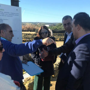 EU-funded MENAWARA project : visit to Spain to learn best practices on wastewater treatment
