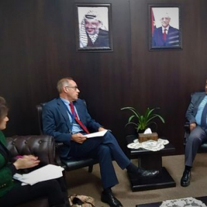 Palestine: Head of EU Police Mission meets Minister of Justice to discuss ongoing cooperation