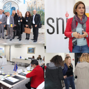 EU funds study visit of journalists from the MENA region to Tunis: lively debate on women's rights and gender representations in the media