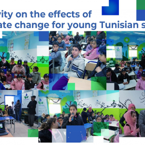 Tunisia: EU-funded project works on sensitizing younger generations on climate change effects