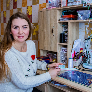 Anastasia's story: how a mother of four turned her hobby into a job
