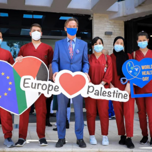 World Health Day: EU celebrates with Palestinian medical staff