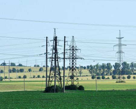 High-voltage transmission lines in the Republic of Moldova