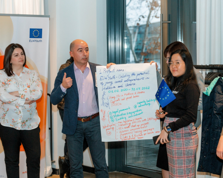 EU4Youth - Unlocking the potential of young social entrepreneurs in Moldova and Ukraine