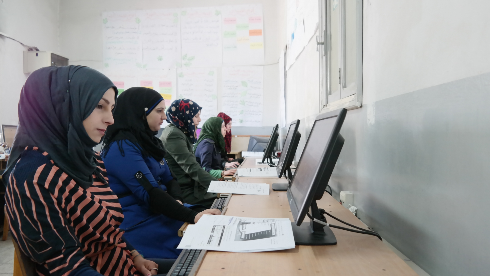 A new electronic application is supporting young Palestinians by collecting data on students and graduates of vocational training centres and tracking their progress in their academic and professional careers.